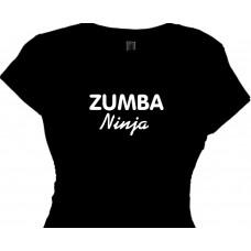 zumba ninja fitness t shirt